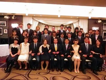 2013年3月 卒業生祝賀会(現役生への支援金贈呈)