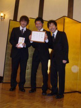 2012年3月 卒業祝賀会(現役生への支援金贈呈)