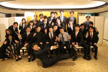 2016年3月 卒業生祝賀会(現役生への支援金贈呈)