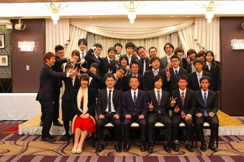 2014年3月 卒業生祝賀会(現役生への支援金贈呈)