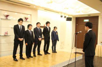 2015年3月 卒業生祝賀会(現役生への支援金贈呈)
